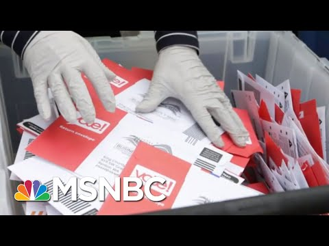 Mail-In Voting Is Not Political, It's About 'We The People' | MSNBC