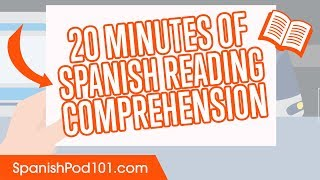 20 Minutes of Mexican Spanish Reading Comprehension