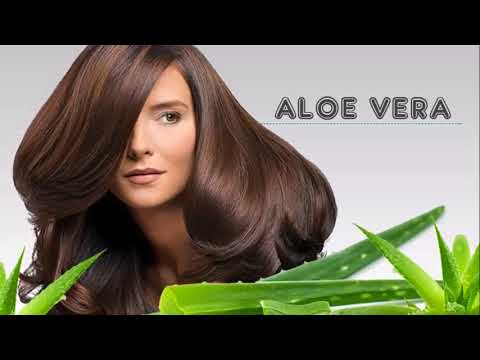Look what happens if you put ALOE VERA in your hair