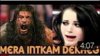 #500sub New Song Mera Intekam Dekhygi feat Roman Reigns and Paige.mp4(bakchodi tech)