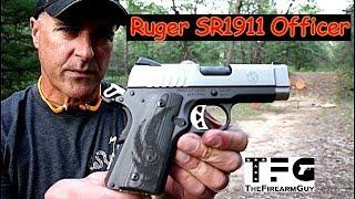 Ruger SR1911 Officer 9mm Range Review - TheFireArmGuy
