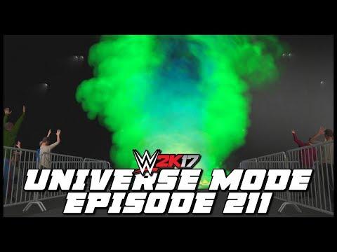 WWE 2K17 | Universe Mode - 'MOAJ T-SHIRT CAW SHOWDOWN!' (PART 4) | #211