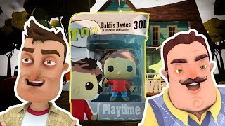 BALDI'S BASICS PLAYTIME POP! Figure | Hello Neighbor Toy Mod