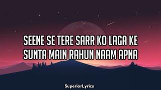 Pal Pal Dil Ke Paas Full Title Song (Lyrics) - Arijit Singh