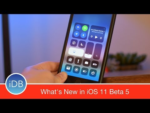 22+ Changes in iOS 11 Beta 5: New Icons, Animations, Control Center & More