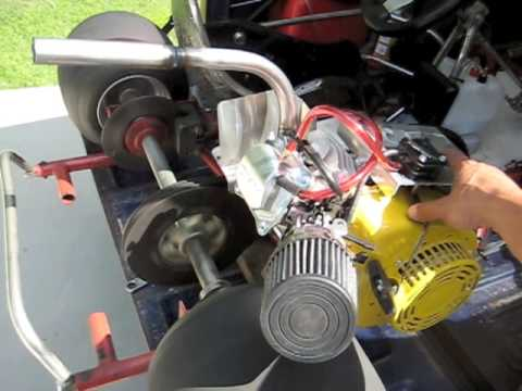 Affordable Go Karts Box Stock Engine With Two Stage Straight Header