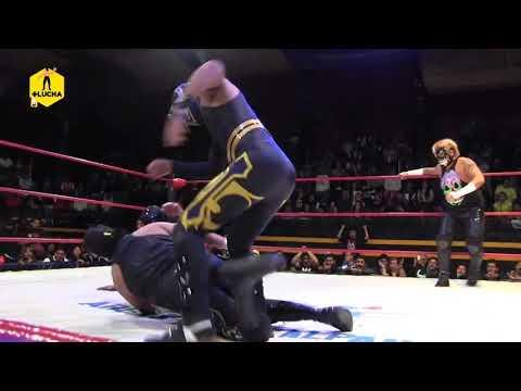 The Crash vs IWRG / Lucha Libre y Pasión, The Crash en Arena Naucalpan