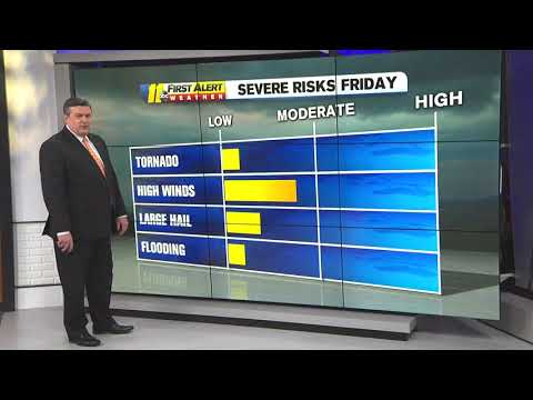 NC Weather: Raleigh, Sandhills Areas At Slight Risk For Severe Weather