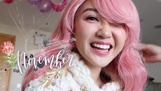 November Vlog | Tháng 11 Cung Bọ Cạp và Chloe
