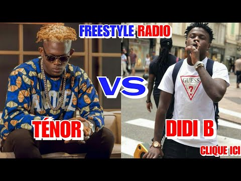 🔴TÉNOR VS DIDI B - ►Freestyle Legendaire #9