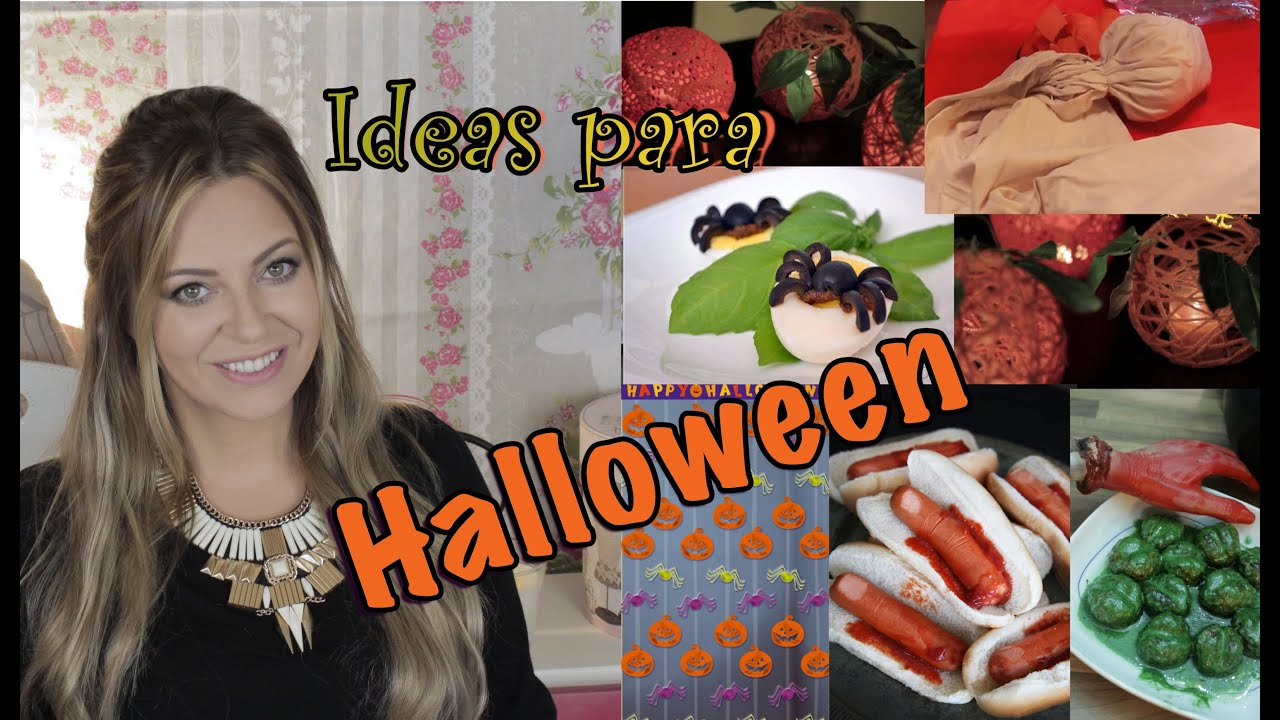 Ideas para halloween decoraci n fiesta comidas for Ideas de comidas faciles