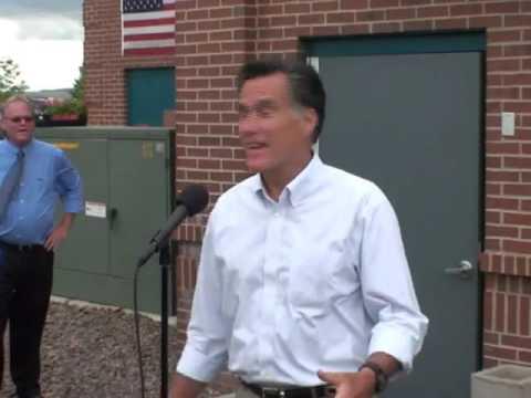 Mitt Romney introduces Doug Robinson