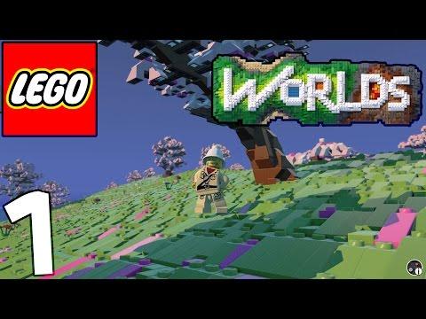 ASMR Lego Worlds [Binaural 3D] #1 A Billion Little Bricks (Whispering Ear To Ear)