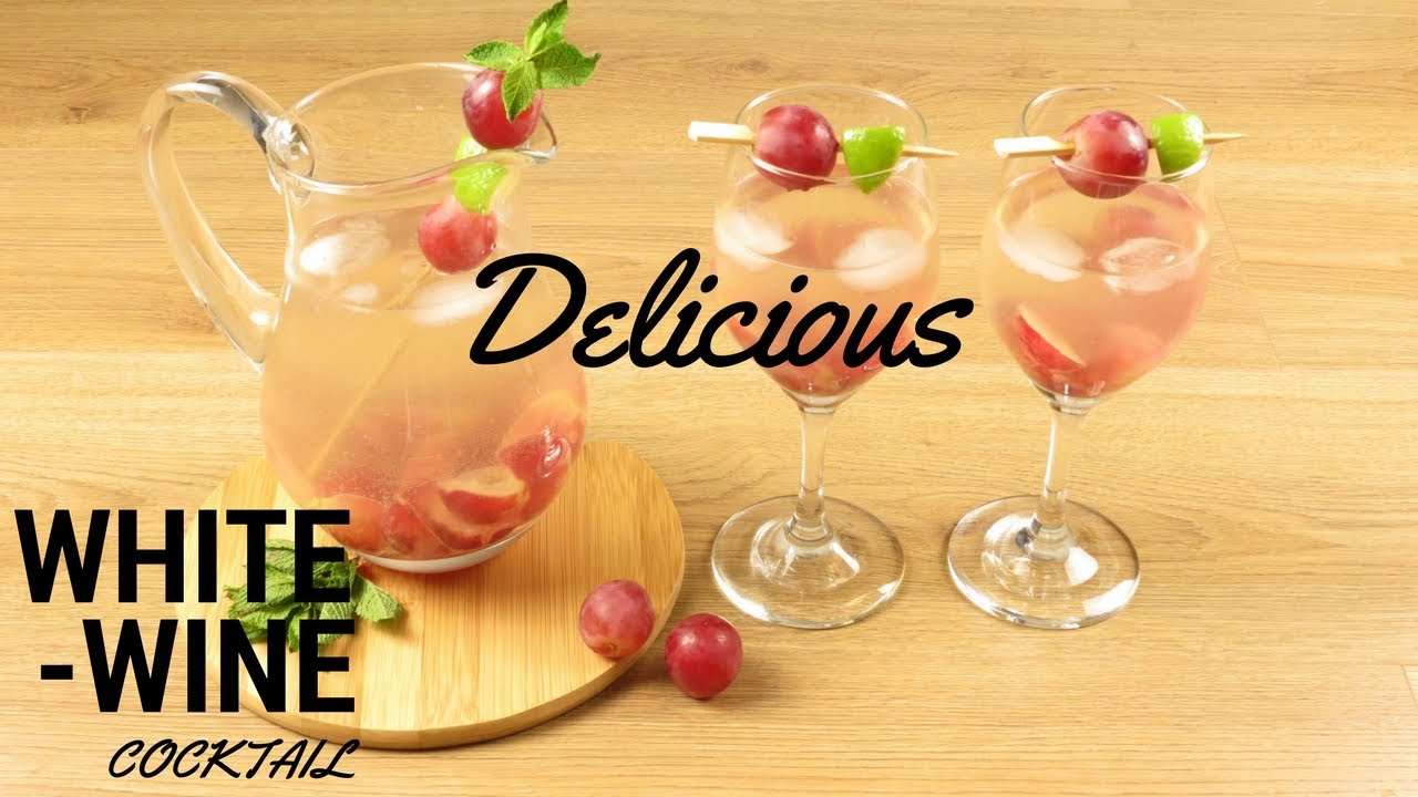 How To Make A Divine White Wine Cocktail Recipe Easy Summer Drinks