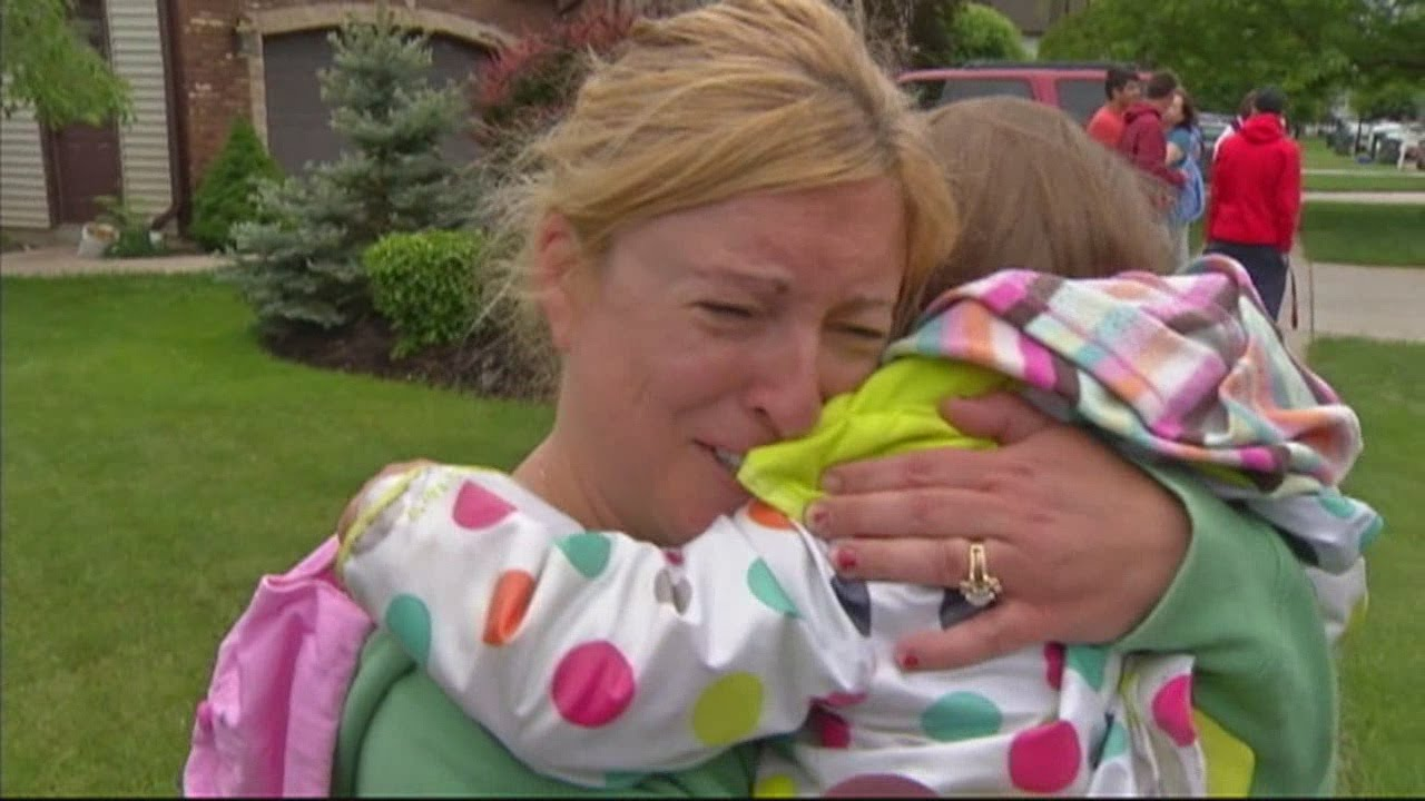 Missing kids found, parents relieved - YouTube