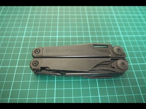 Leatherman wave charge sheath holster case snap cover leather