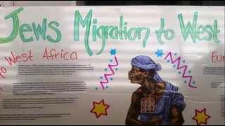 Jews Migrations to West Africa Sign
