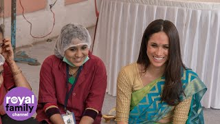 Duchess of Sussex visits India with World Vision in never before seen video