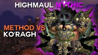 Method vs Ko'ragh Mythic