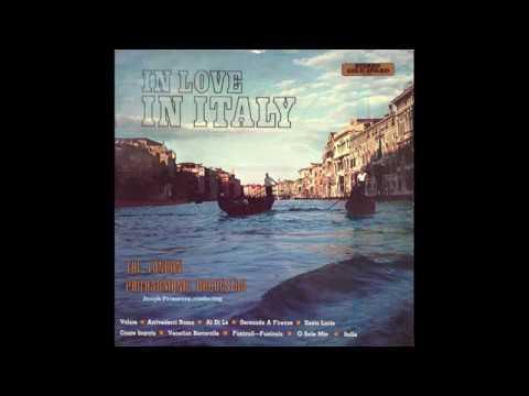 London Philharmonic Orchestra + Joseph Primavera  - Santa Lucia/Funiculi Funicila/O Sole Mio [1970]