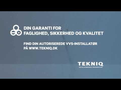 TEKNIQ Reklamefilm - den med afløbet