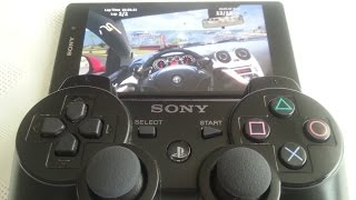 Sony Xperia Z2 PS3 (HOW TO CONNECT PS3 CONTROLLER)