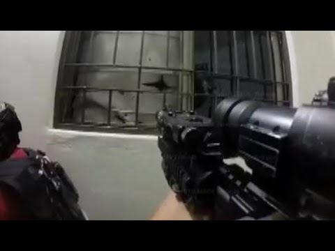 POV GoPro Helmet Cam Footage From Mexican Marines During Capture Of El Chapo | Military News