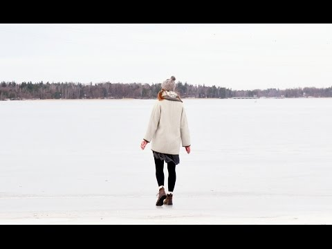 Finland #31 // skating on the frozen sea, rock church, cafe Regatta