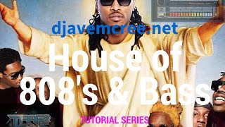 House of 808s & Bass Tutorial pt.3: mixing 808s