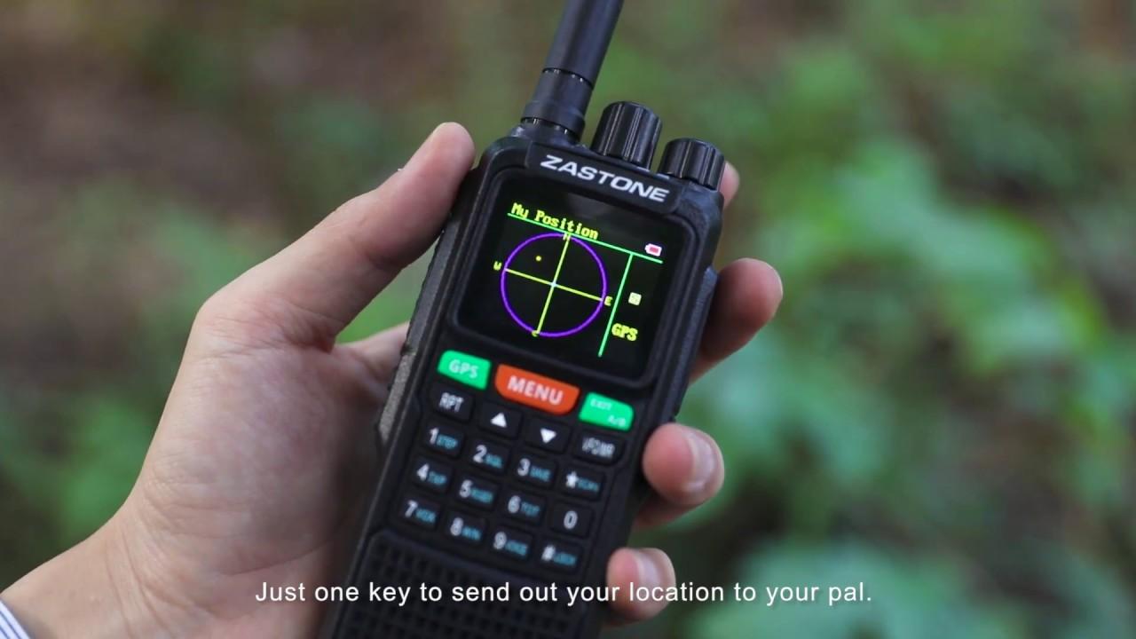 Zastone 889g Gps Handheld Radio 10w 999ch 3000mah Youtube