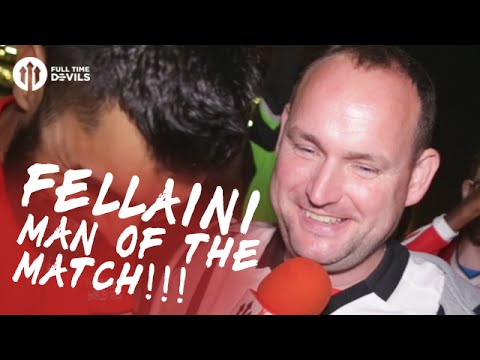Andy Tate: FELLAINI MY MOTM!!! | Manchester United 2-0 Southampton | FANCAM
