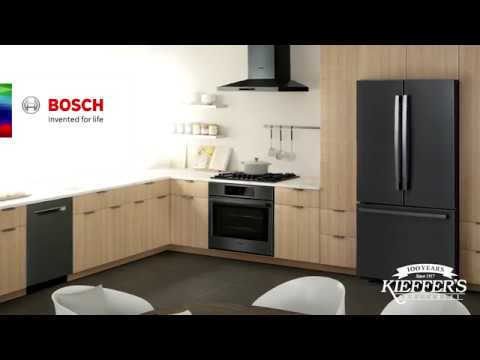 Bosch Black Stainless-Steel Appliances