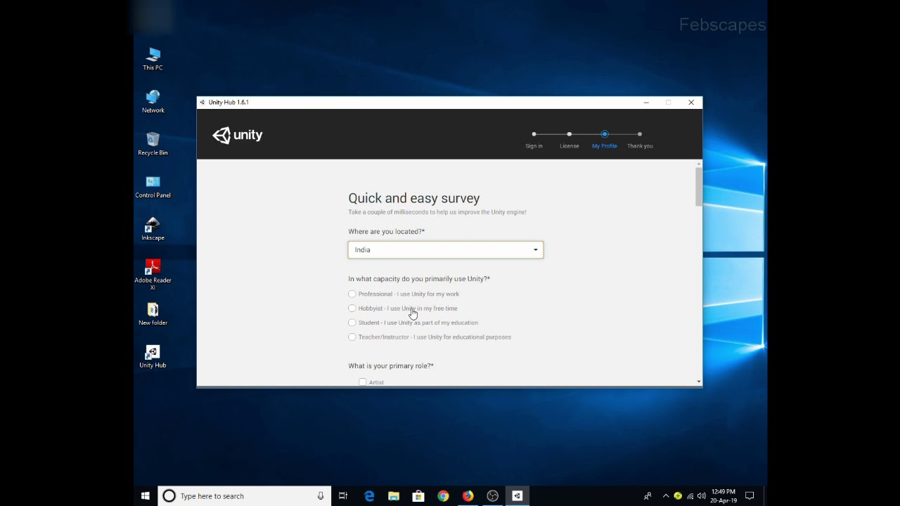 How to Download and Install Unity Hub and Unity 2019