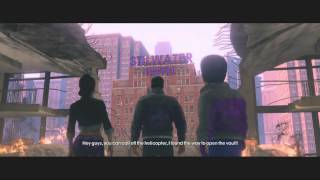 Saints Row The Third Let's Play Part 1 - When Good Heist Go Bad -