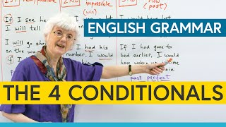 Learn English Grammar: The 4 Conditionals