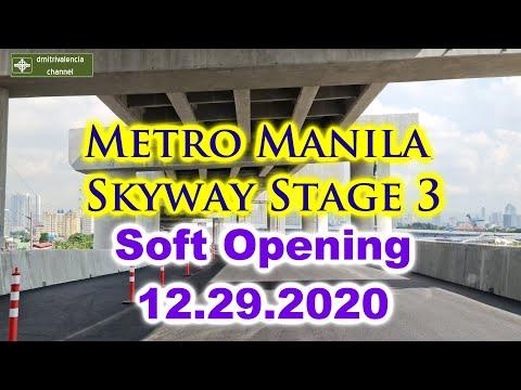 Metro Manila Skyway Stage 3 Soft Opening 12/29/2020 - Drive Thru