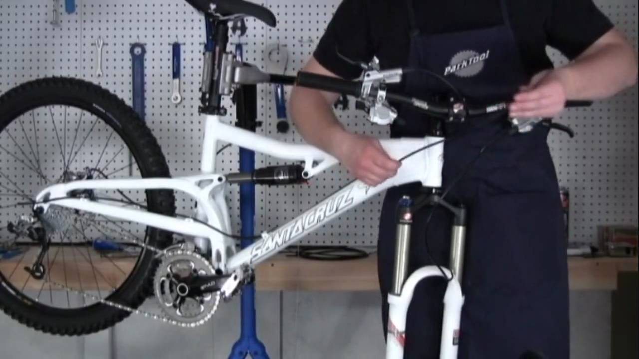 How To Replace A Shifter Cable On Your Bicycle Youtube