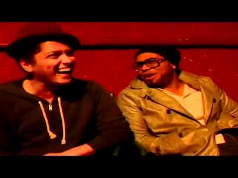 Bruno Mars & Phil Lawrence in a Jackie Boyz Promo Video