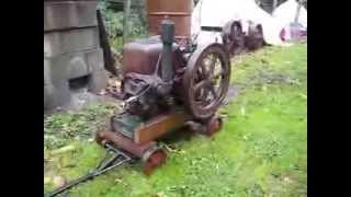 Vintage Stationary Engine  Sundial 2 HP B Type