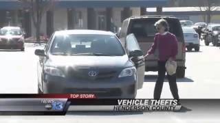 Car Burglaries Spike Around Holidays