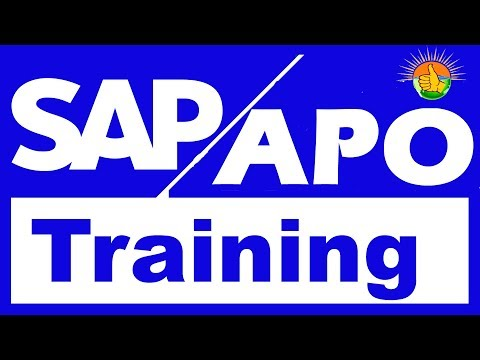 SAP APO Tutorial for beginners | SAP APO Training videos 1
