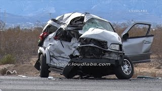Video Hwy 395 Multi Fatal Crash / Victorville  RAW FOOTAGE download MP3, 3GP, MP4, WEBM, AVI, FLV Agustus 2017
