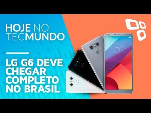 Pode comemorar? LG G6 deve chegar ao Brasil completo e sem versão 'SE' - Hoje no TecMundo