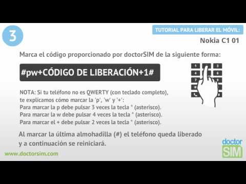 Liberar móvil Nokia C1 01 | Desbloquear celular Nokia C1 01 from YouTube · Duration:  1 minutes 15 seconds