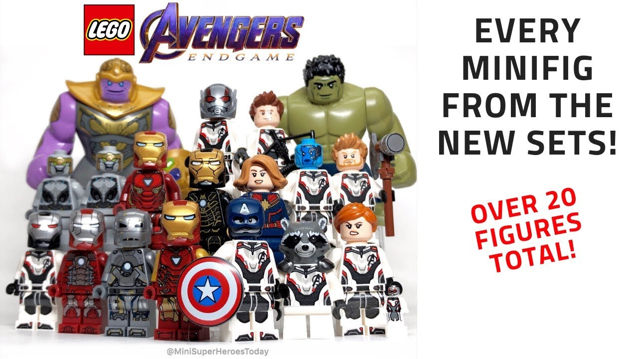 Review Of Every Lego Avengers Endgame Minifigure Youtube