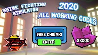 New Code In Anime Fighting Simulator Wiki