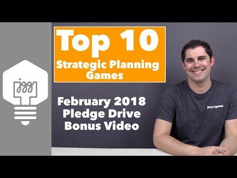 Top 10 Strategic Planning Board Games - JonGetsGames