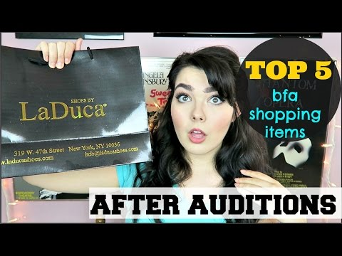 Top 5 BFA Dorm Items | After Auditions