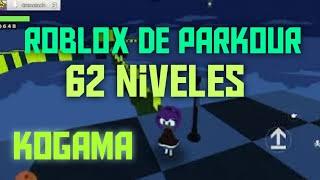 Roblox parkour 62 levels, speedrun