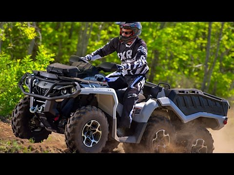TEST RIDE: 2015 Can Am Outlander 650 XT 6x6